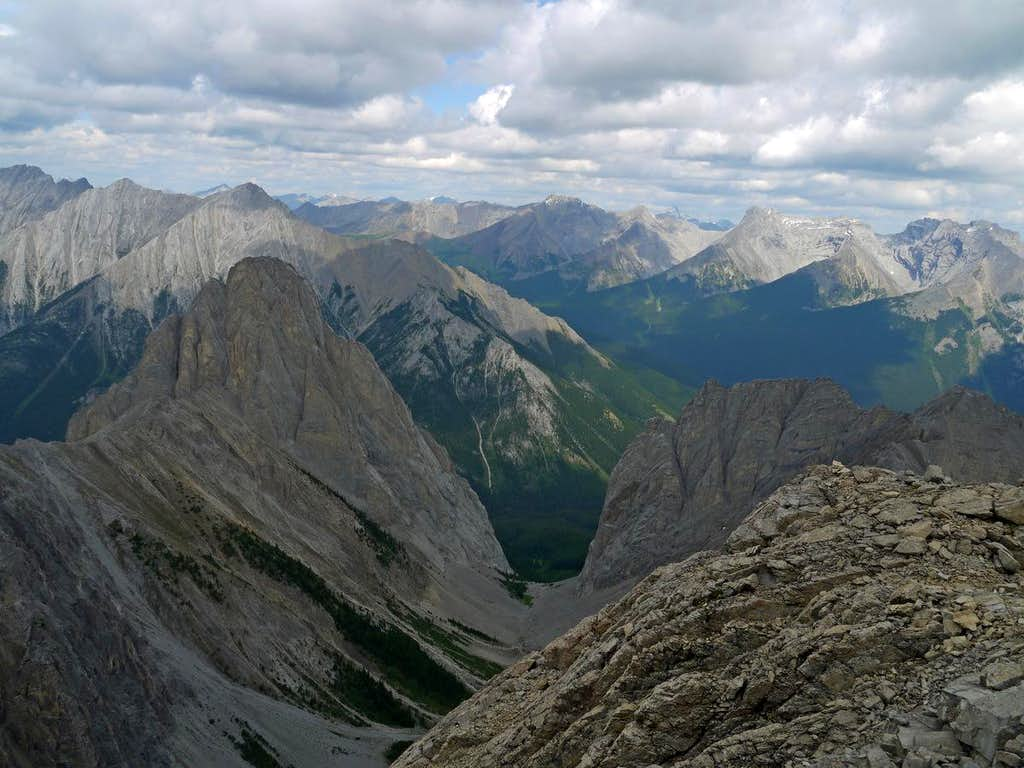 Summit Views to the East