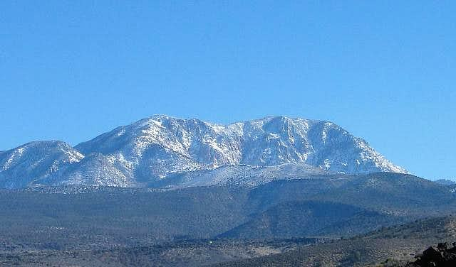 The Pine Valley Mountain...