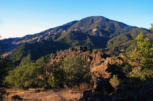Mt. St. Helena from