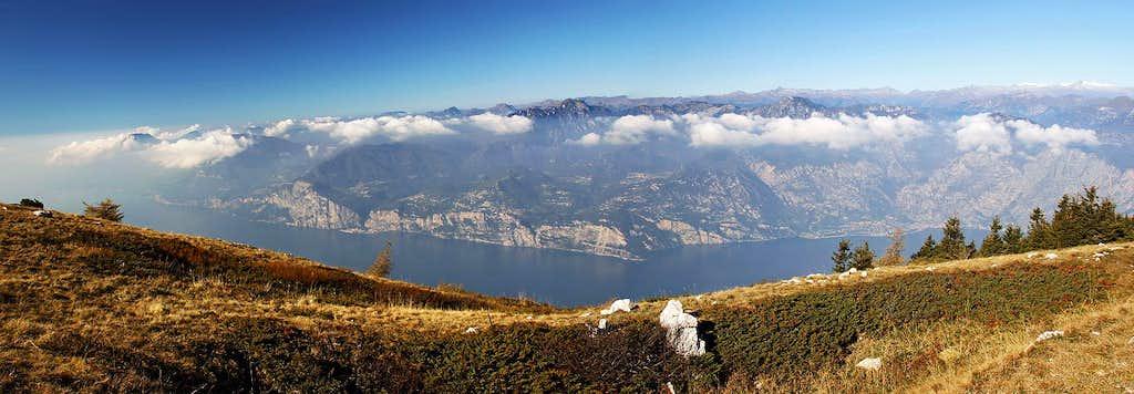 On the main ridge of Monte Baldo