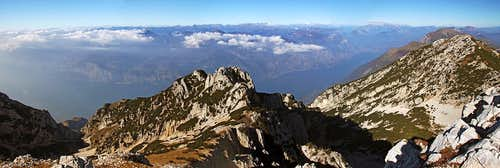 The great panorama from Cima Valdritta