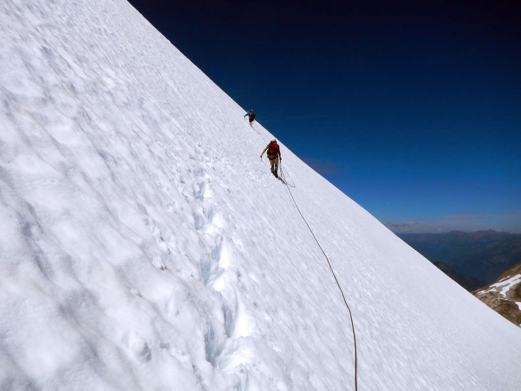 Steep Traverse