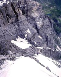 Northwest Ridge of Gspaltenhorn