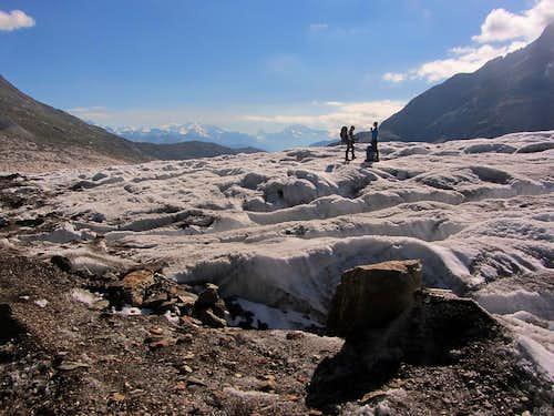 On the Grosser Aletschgletscher
