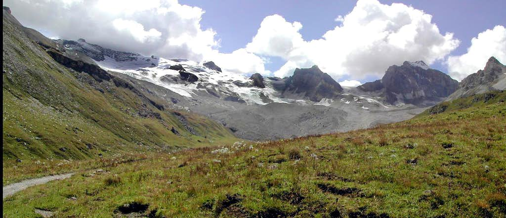 Gran Paradiso GROUP: head of Val di Rhêmes