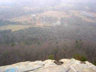 View of Figure 8 pond from...