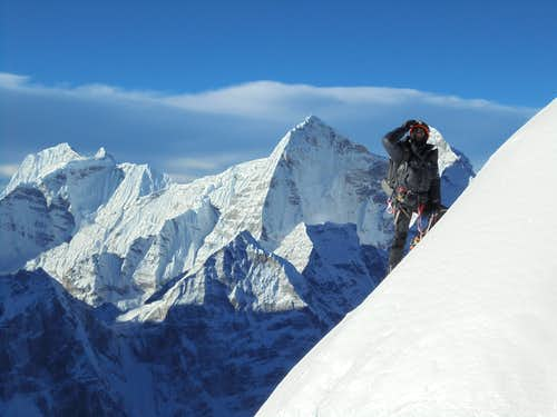 A Himalayan debut - Island Peak and Ama Dablam