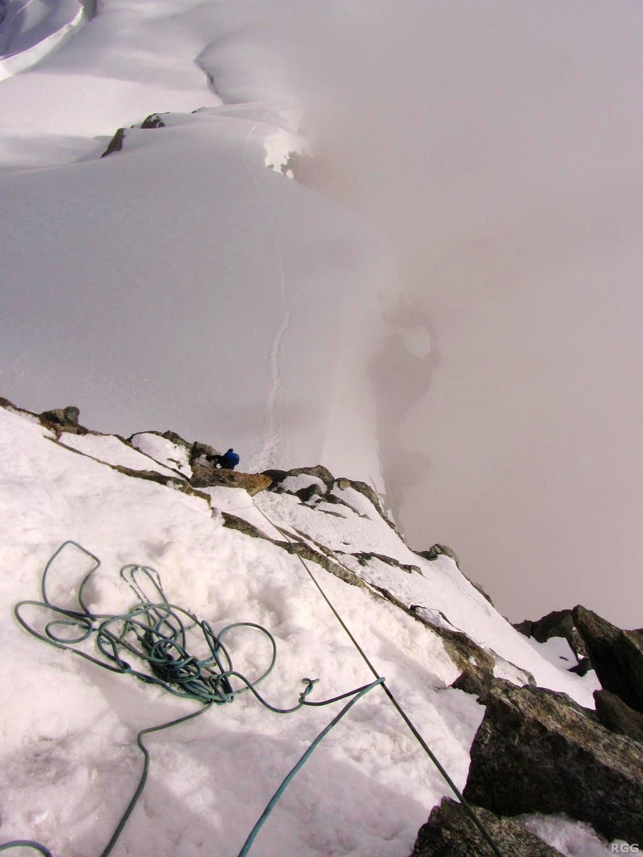 High on the Hohlaub ridge