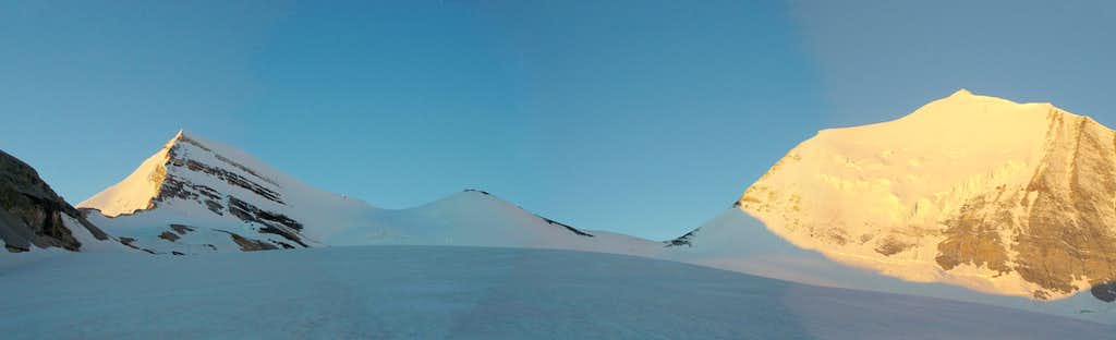 On the Brunegg Glacier