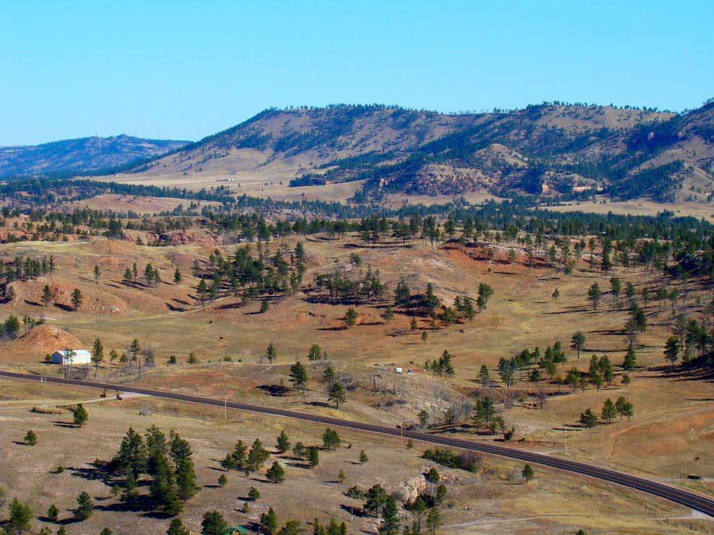 Devil's Slide Summit View North