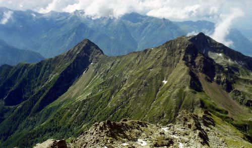 D ... To Corno del Lago, Mounts Crabun & Aquila 2000