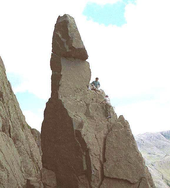 An ascent of Napes Needle