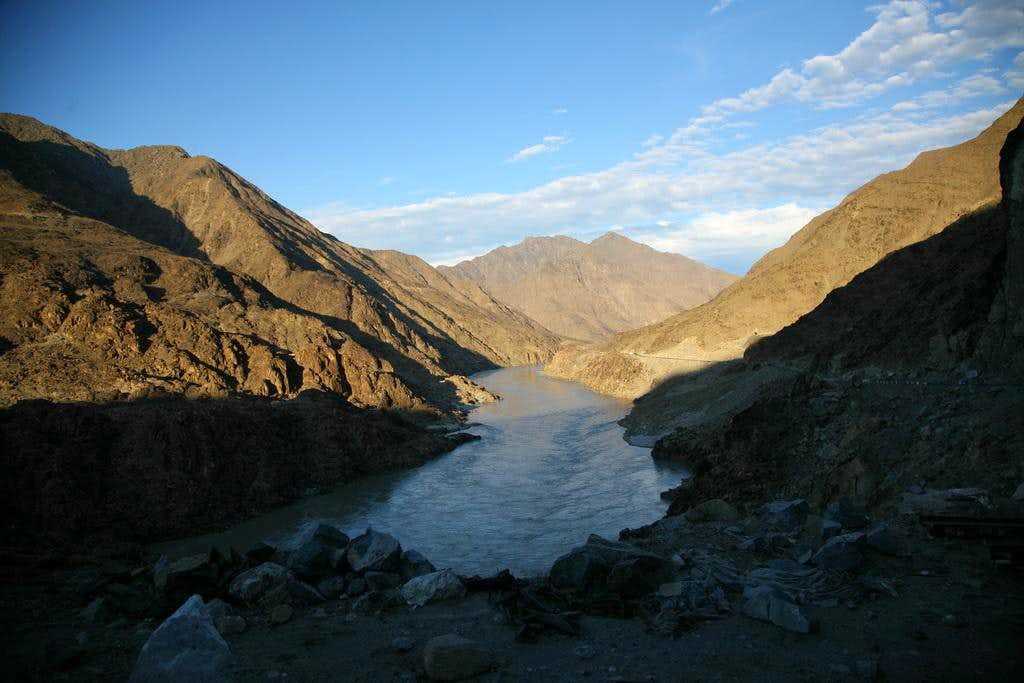 Along Mighty Indus River