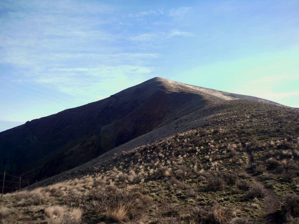 The summit area awaits