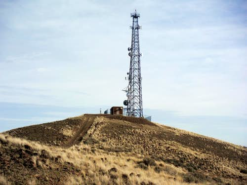 The summit radio tower