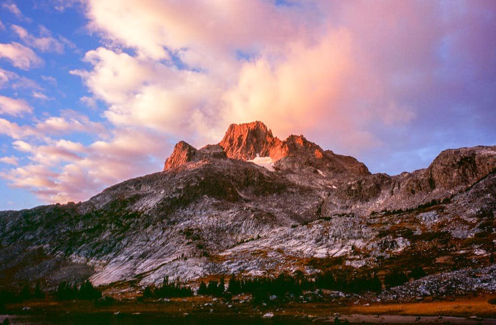 Banner Peak at Sunset