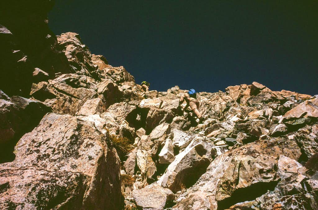Ascending East Face
