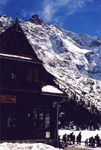 At the Morskie Oko chalet -...