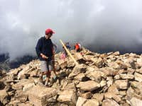 No we need to leave now!! Quandary Peak - August 7, 2014