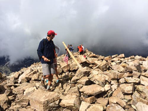 A Painful Lesson on Colorado Storms on Quandary Peak