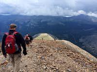 Leaving Now!! Quandary Peak - August 7, 2014