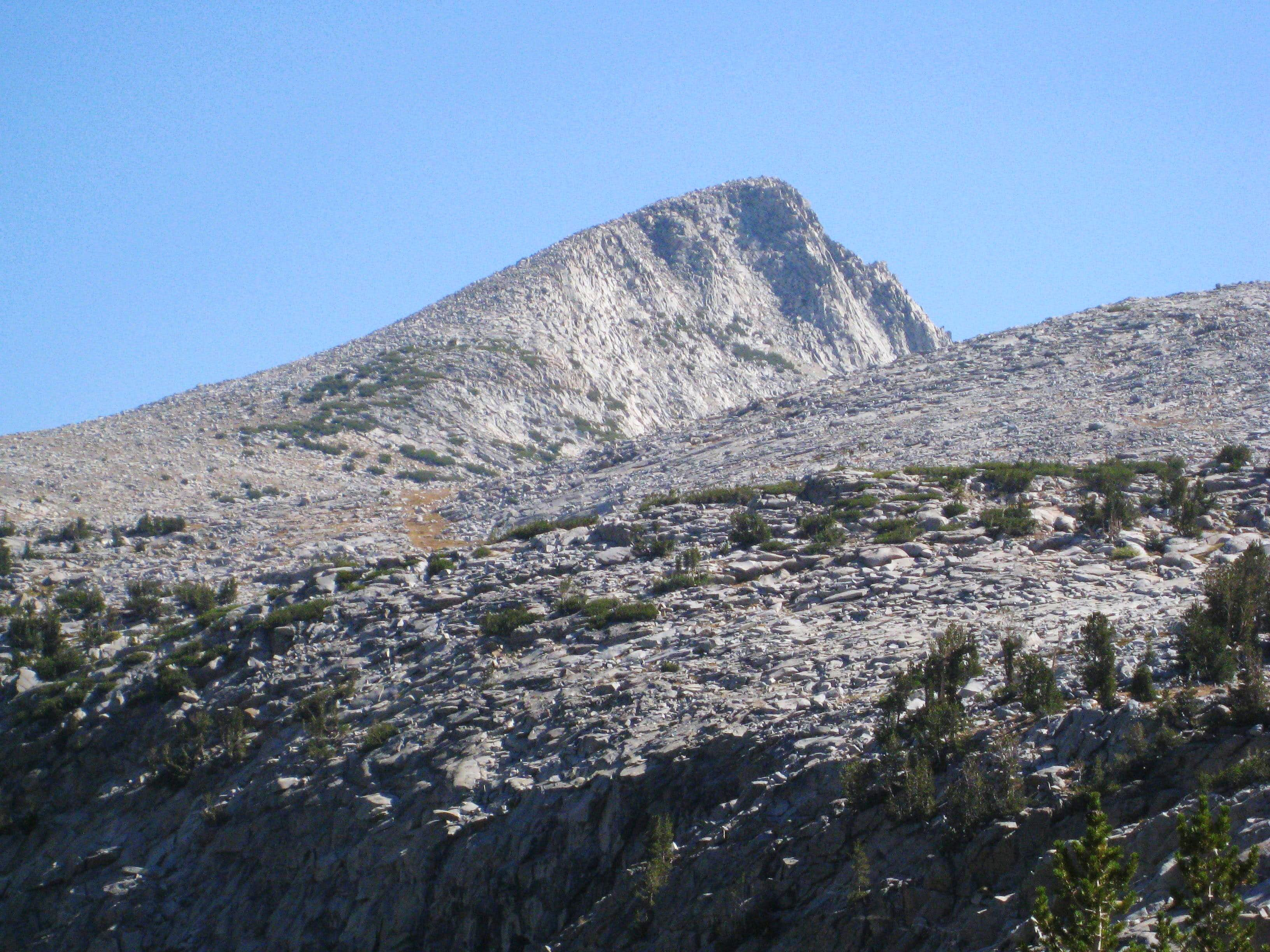 Donohue Peak from Kuna Creek Basin