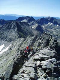 Summit ridge of Pic de Peguera