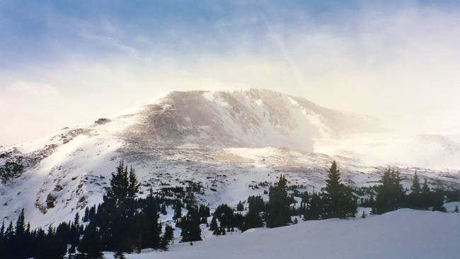 Mount Massive Winter Photos