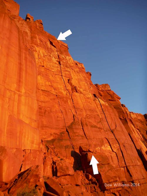 Crack Wars, 5.11, 4 Pitches