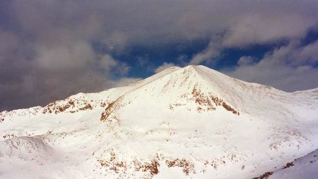 Mount Democrat Winter Photos