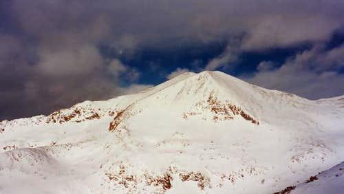 Mount Democrat Winter Photos