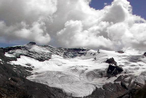 Gran Paradiso GROUP: Punta Basei<i> 3338m</i>, Punta Bousson <i>3337m </i> and Punta Galisia <i>3346m</i>