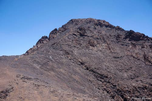 Toubkal from Tibherine