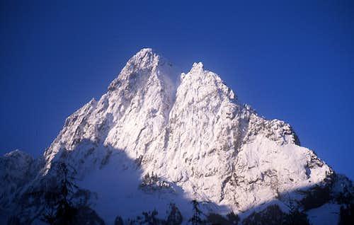 Sperry peak east face