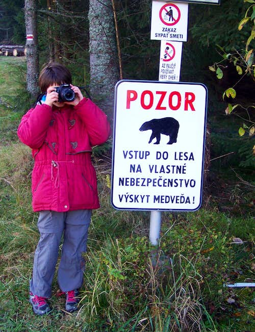 Danger of bears!