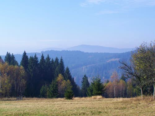 Poľana (1457 m) on the Horizon