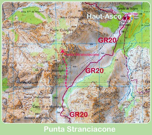 Stranciacone map