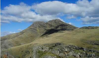 View of Cerro Tres Picos