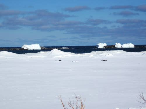 Lake Superior in Late Winter