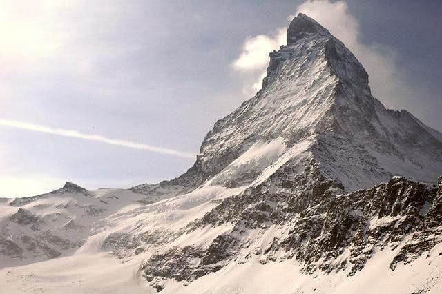 Matterhorn seen from route to...