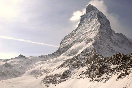 Matterhorn seen from route to...