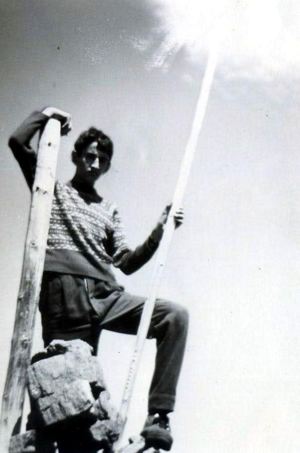 P. di Pian Bessey On Old Summit P. della Valletta 1966