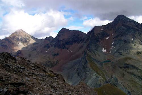 Punta di Pian Bessey The NE Ridge to Garin Hill 2004