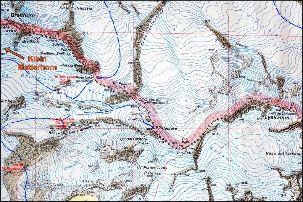 Map of approaches to Castor