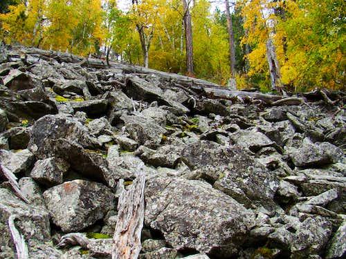 Samelias Peak Boulder Field