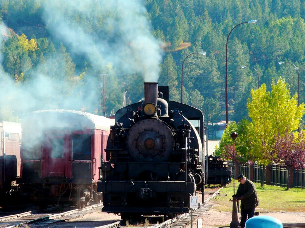 Black Hills 1880 Steam Train