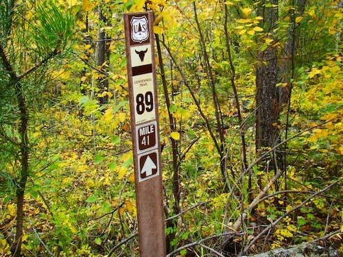 Centennial Trail Marker