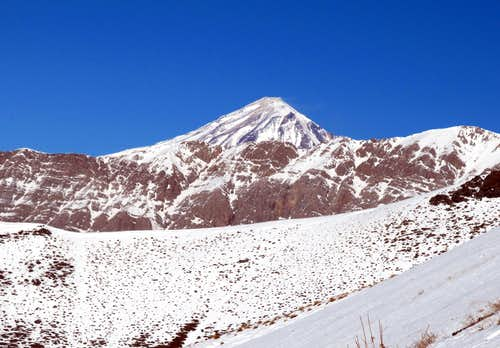 Damavand in the route