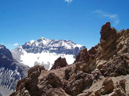 View of Cerro Ameghino from...