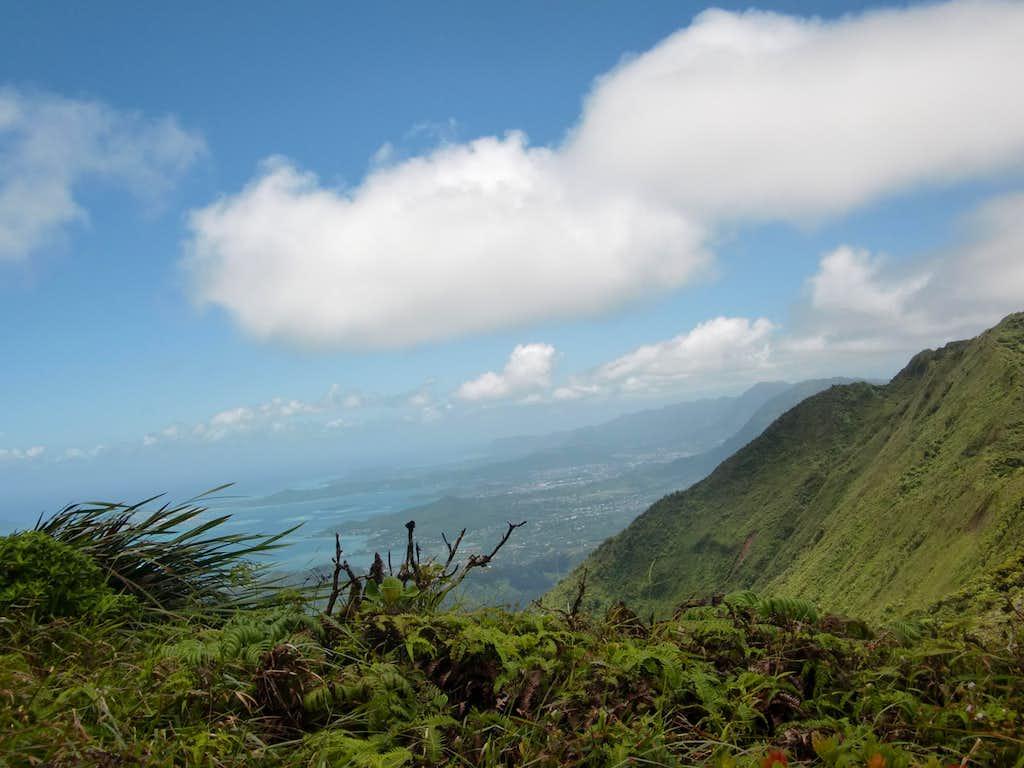 Kaneohe from Puu Kaaumakua